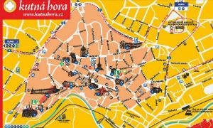 Kutná Hora Map