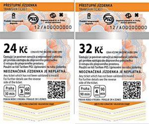 Prague public transport tickets