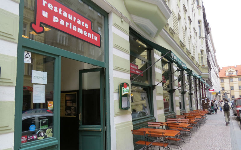 U Parlamentu - Where to eat in Prague